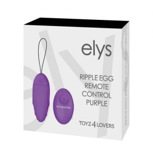 Elys Ripple Egg Remote Control Purple