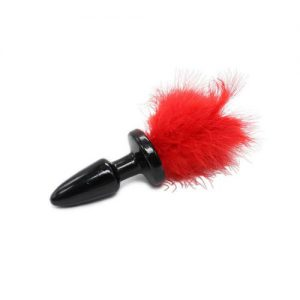 Plug anale Funny Tail rosso