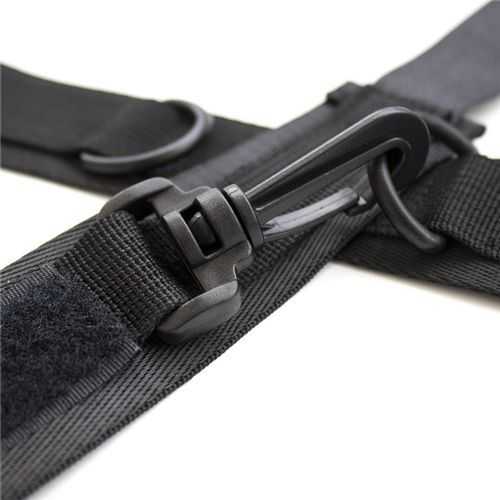 Costrittivo Easy Cuffs Collar Arms Restraint black