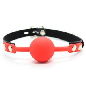 Morso Ball Gag Red